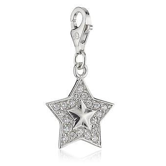 s.Oliver драгоценность дамы подвеска шарм Серебряная звезда СОЧА/214-464864