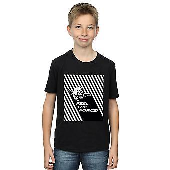 Star Wars Boys Yoda Feel The Force T-Shirt