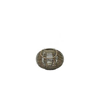 Light & Living Hurricane Ø38X27 Cm Tropez Rattan Natural
