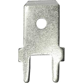 Vogt Verbindungstechnik 3866A.68 Blade connector Connector width: 6.3 mm Connector thickness: 0.8 mm 180 ° Not insulate