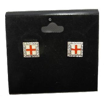 Union Jack tragen St George Cross England Manschettenknöpfe