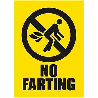 No Farting Funny Fridge Magnet