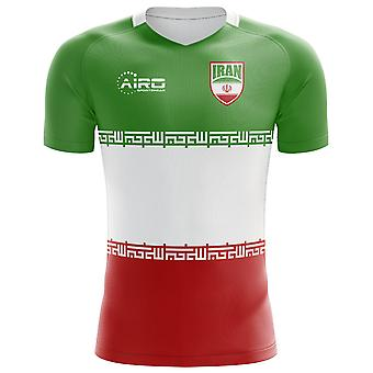 2018-2019 Iran Flag Concept Football Shirt (Kids)