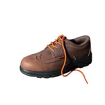 Result Mens Manager's Brogue Steel Toe Safety Oxford Shoe S1-P
