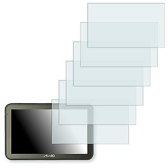 Mio spirit 7500 LM display protector - Golebo crystal clear protection film