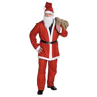 Julen suit Santa Claus suit jul kostume til mænd