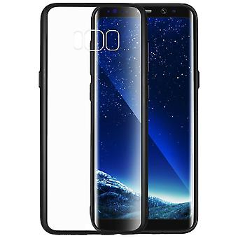 Protecting case with clear back Samsung Galaxy S8+