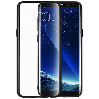 Protéger les cas avec dos clair Samsung Galaxy S8 +