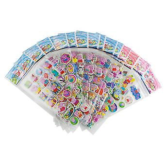 PepaPig stickers in 3D-4 Sheets (about 48 PCs)