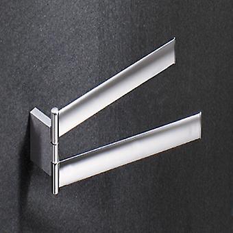 Gedy Kent doppio Swing Towel Rail Chrome 5523 13