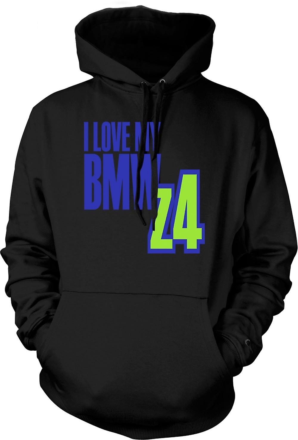 Kids Hoodie - I Love My BMW Z4 - Car Enthusiast