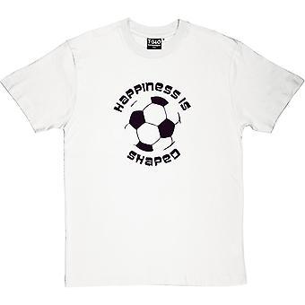 Felicidade é a t-shirt do futebol em forma de homens