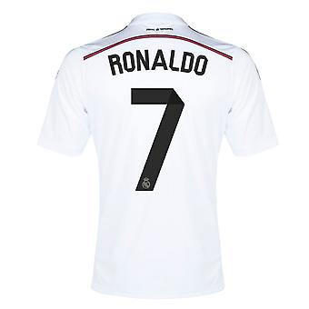 2014-15 Real Madrid Home Shirt (Ronaldo 7) - Kids
