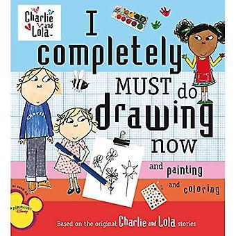 Je dois tout faire maintenant de dessin et de peinture et de coloriage (Charlie et Lola)