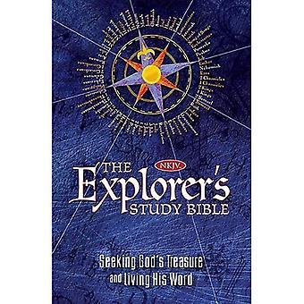 Explorer's Study Bible-NKJV: Seeking God's Treasure and Living His Word