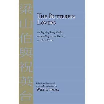 Butterfly Lovers: Die Legende von Liang Shanbo und Zhu Yingtai, vier Versionen mit verwandten Texten