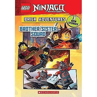 Irmão/irmã Squad (Lego Ninjago: aventuras do tijolo) (Lego Ninjago capítulo livro)