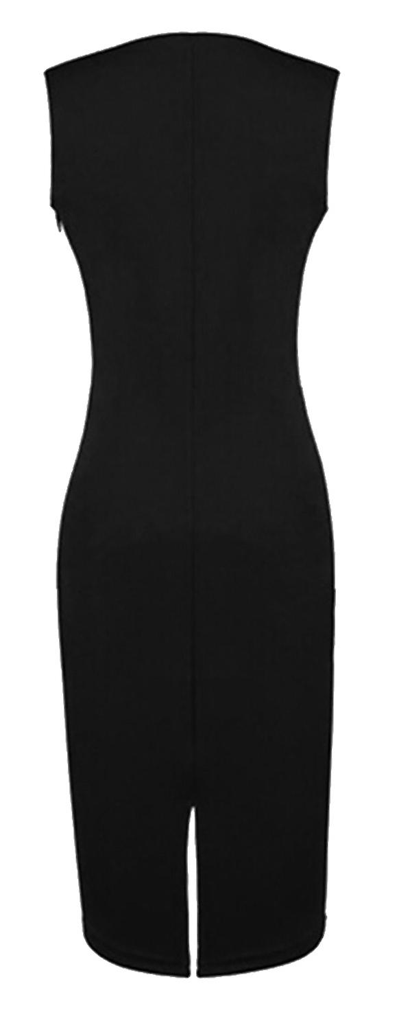 Waooh - Midi Dress with asymmetrical neckline SSSI