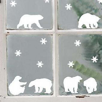 Polar Bears Stickers Muraux