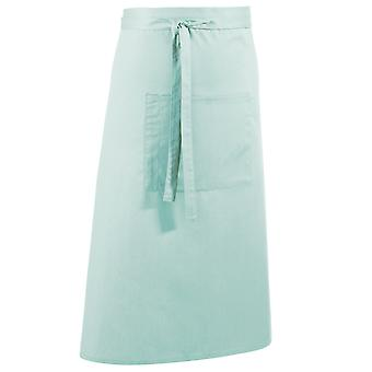 Premier Unisex Colours Bar Apron / Workwear (Long Continental Style) (Pack of 2)