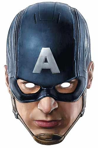 Captain America Avengers Age of Ultron Single Card Party Face Mask