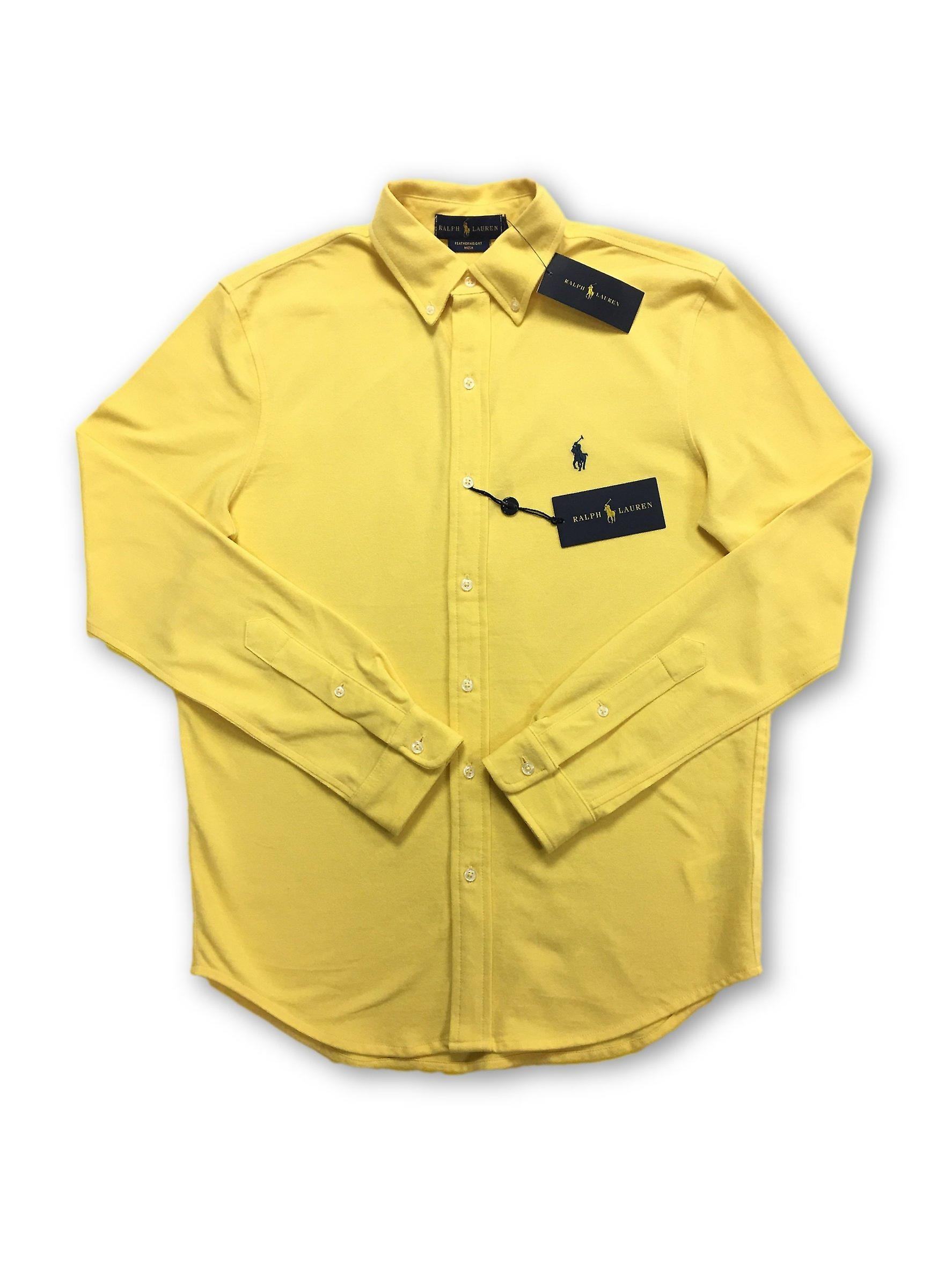 Ralph Lauren shirt in yellow