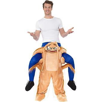 Piggyback Cockroach Costume Huckepack Kostüm