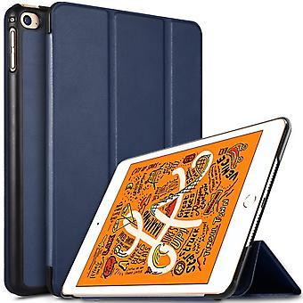 iPad mini 2019/Mini 4 Slim Fit Tri-Fold Case-Dark Blue