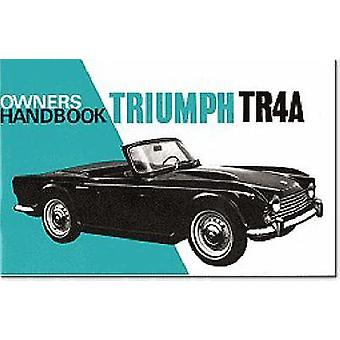 Triumph TR4A Owners Handbook (2nd Revised edition) by Brooklands Book