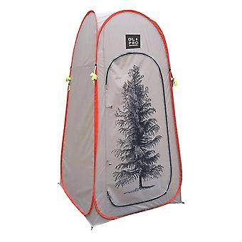 OLPRO Pop Up Toilet Tent Utility Tree Print  1 Window 1 Minute Pitching Time