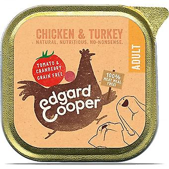 150g Chicken & Turkey with Tomato and Cranberry Dog Food Trays