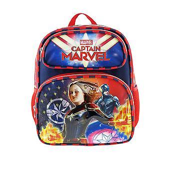 Small Backpack - Marvel - Captain Marvel - Superhero Girl 12