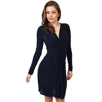 KRISP Long Sleeved Knot Dress
