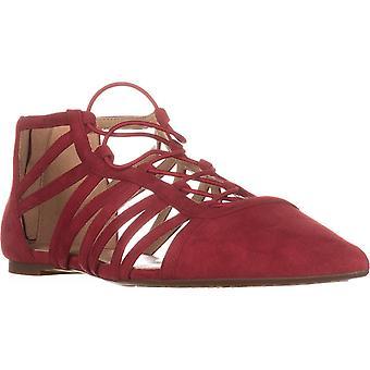Michael Michael Kors Womens Clarissa Flat Leather Pointed Toe Slide Flats