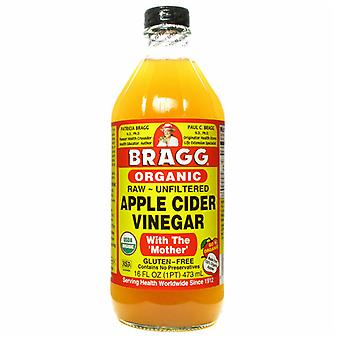 Bragg biologische ongefilterde appel cider azijn