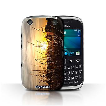 STUFF4 Case/Cover for Blackberry Curve 9320/Barley Fields/Sunset Scenery