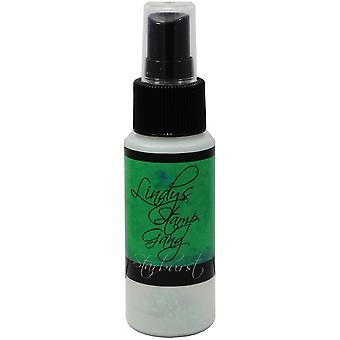 Lindy's Stamp Gang Starburst Spray 2Oz Bottle Lucky Shamrock Green Sbs 56