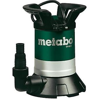Clean water submersible pump Metabo 0250660000 6600 l/h 6 m