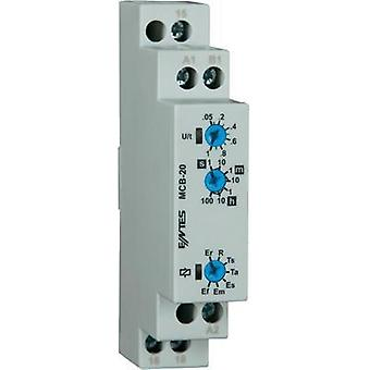 ENTES MCB-20 Time Delay Relay, Timer, SPDT-CO (8 A) 24 – 240 V/DC/AC IP40
