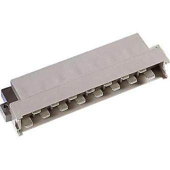 Edge connector (pins) DIN 41612 Type H15M ZD 3 mm 90 ° Ag VE z 32 Total number of pins 15 No. of rows 2 ept 1 pc(s)