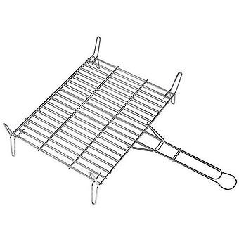 Alperk Double Grill 45x55 galvanized (Garden , Barbecues , Cooking tools)