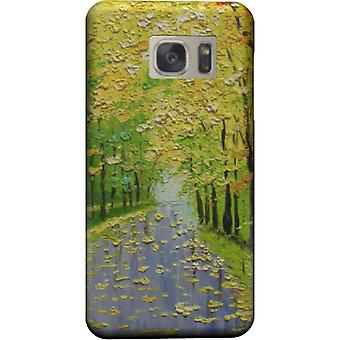 Colorful Trees Landscape cover for Galaxy S6 Edge