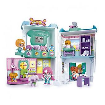 Pinypon Vet Center (Toys , Dolls And Accesories , Miniature Toys , Mini Figures)