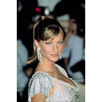 Gisele Bundchen At Metropolitan Museum Of Art Goddess Gala Ny 4282003 By Cj Contino Photo Print
