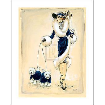 Dziki Westies III Poster Print przez Dupre (22 x 28)