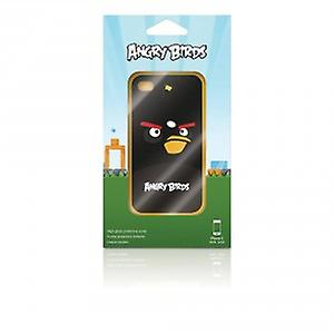 Gear 4 'Angry Birds' cell phone protective case for iPhone 4 / 4 S - Black