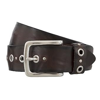 BERND GÖTZ belts men's belts leather belt walking Leather Brown 4832