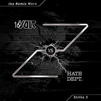 16 volt vs hader Dept - Remix Wars 3 [Vinyl] USA importerer