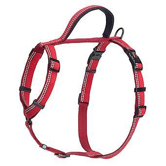 Halti Nylon gå udnytte rød lille 43-60cm