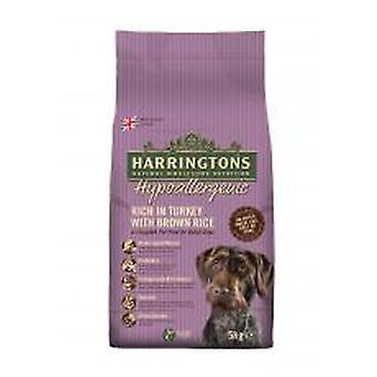 Harringtons komplet hund allergivenlige Tyrkiet & ris 5kg